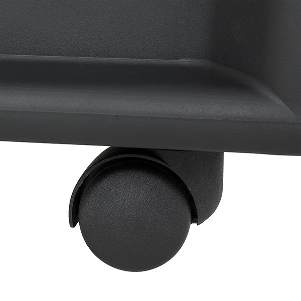 Shapes Series Two-in-One Rock or Roll Stool - Caster - Detail