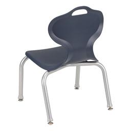 "Profile Series School Chair (12"" H) - Navy - Back"