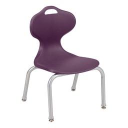 "Profile Series School Chair (12"" H) - Eggplant"