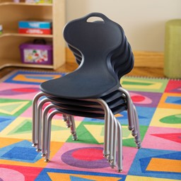 """Profile Series School Chair (12"""" H) - Stacked"""