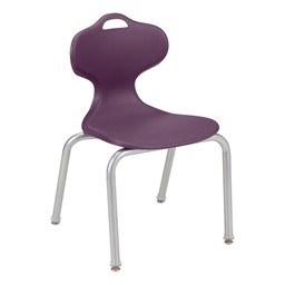 Profile Series School Chair-Shown es Eggplant