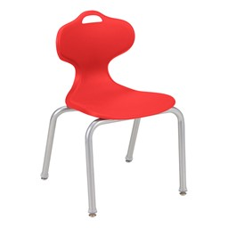 Profile Series School Chair-Shown es Red