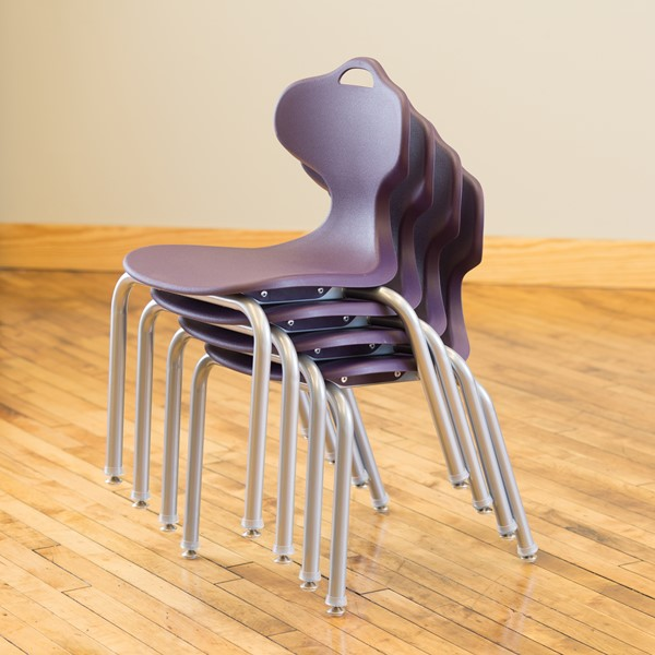Profile Series School Chair-Shown es Stack