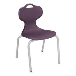 Boomerang Collaborative Desk w/o Wire Box and 18-Inch Profile Series School Chair - Chair