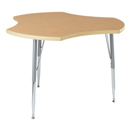 Cog Collaborative Table w/ High-Pressure Laminate Top - Maple