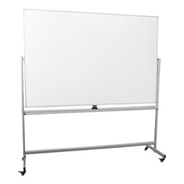 Double-Sided Mobile Magnetic Markerboard (6\' W x 4\' H)