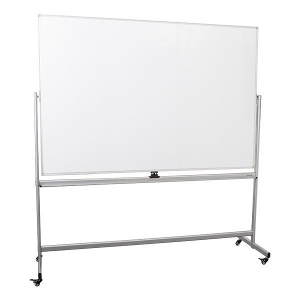 Double-Sided Mobile Magnetic Markerboard (6' W x 4' H)