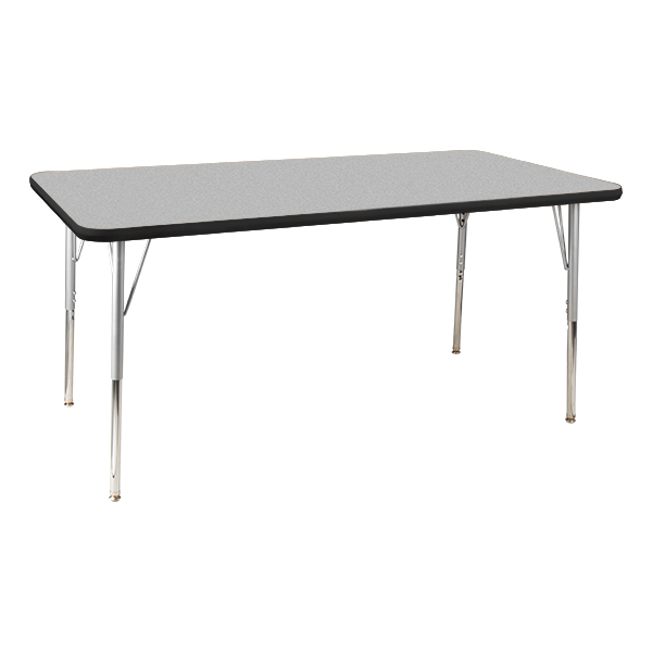 School rectangle table Clip Art Rectangle Activity Table Gray Topblack Edge Band Indiamart Learniture Rectangle Activity Table At School Outfitters