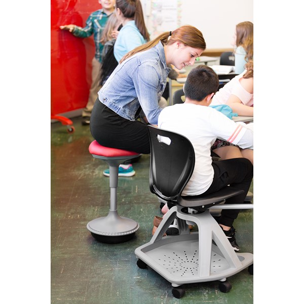 Adjustable-Height Active Learning Stool
