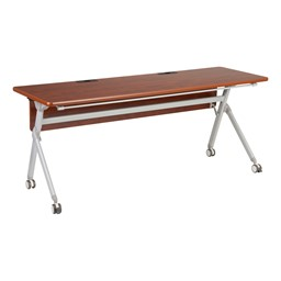 Profile Series Mobile Flipper Table w/ Modesty Panel & Ganging Brackets