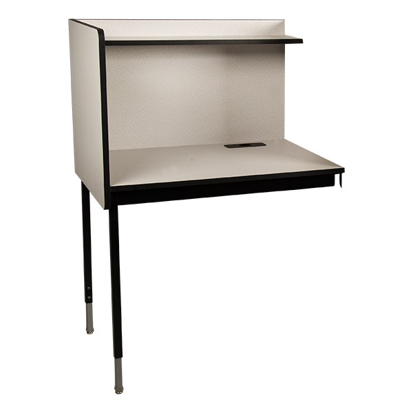 Adjustable-Height Study Carrel - Adder Unit