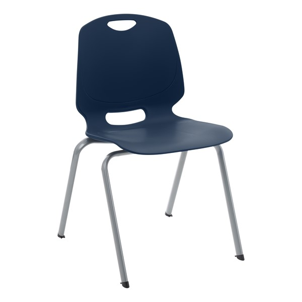 Academic Stack Chair - Navy