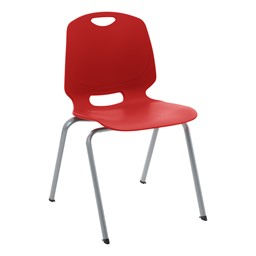 Academic Stack Chair - Red