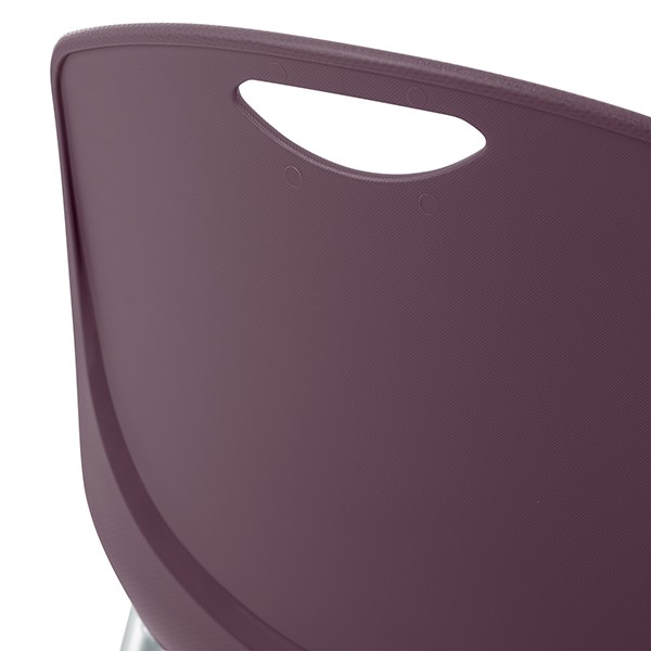 Academic Stack Chair - Handle