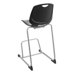 Academic Media Chair - Black - Back