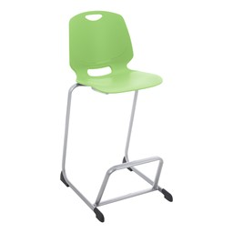 Academic Media Stack Chair - Apple Green