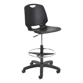 Academic Lab Chair - Black