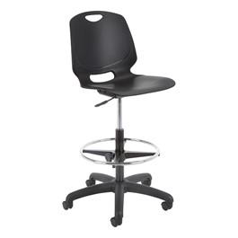 Academic Lab Chair - Black