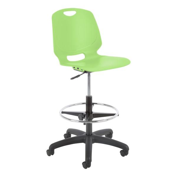 Academic Lab Chair - Apple Green