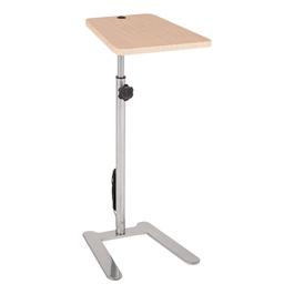 Adjustable-Height Freestanding Tablet Arm w/ USB