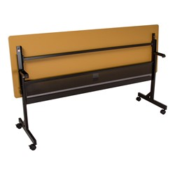 Merit Series III Flip Top Training Table - Rectangle - Flipped - Back