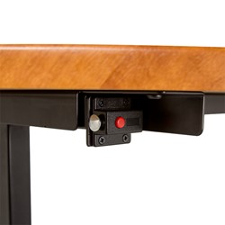 Merit Series III Flip Top Training Table - Rectangle - Lock