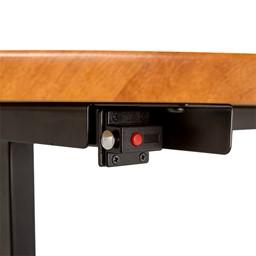 Merit Series III Flip Top Training Table - Rectangle - Lock