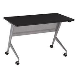 """Heavy-Duty Flipper Table (24"""" W x 48"""" L) - Black"""
