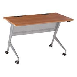 "Heavy-Duty Flipper Table (24\"" W x 48\"" L) - Cherry"