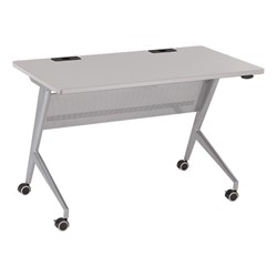 """Heavy-Duty Flipper Table (24"""" W x 48"""" L) - Gray"""