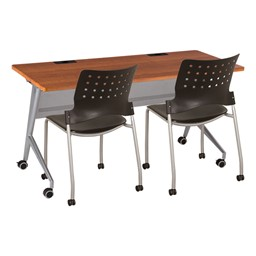 "Heavy-Duty Flipper Table (24"" W x 60"" L) - Chairs not included"