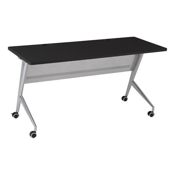 Heavy-Duty Flipper Table & Stack Chair Bundle - Heavy-Duty Flipper Table - Black