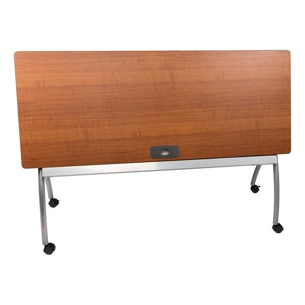 """Wishbone Leg Flipper Table (24"""" W x 60"""" L) - Flipped"""