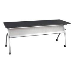 "Wishbone Leg Flipper Table & Nesting Chair Bundle (24"" W x 72"" L) - Wishbone Leg Flipper Table"