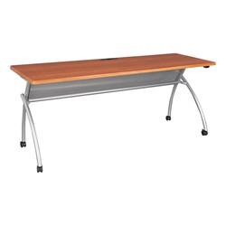 Wishbone Leg Flipper Table & Nesting Chair Bundle - Wishbone Leg Flipper Table - Cherry