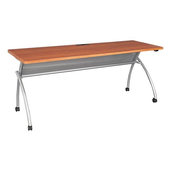 """Wishbone Leg Flipper Table (24"""" W x 72"""" L)  - Cherry"""