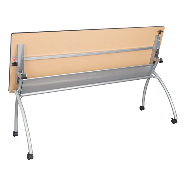 """Wishbone Leg Flipper Table (24"""" W x 72"""" L)  - Flipped"""