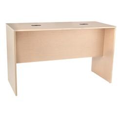 Trestle Table w/ Two Grommets - Maple