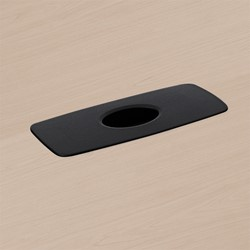 Trestle Table w/ Two Grommets - Grommet detail