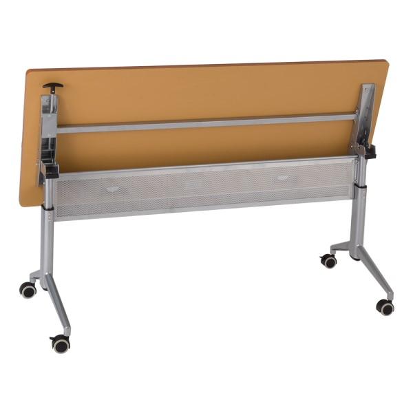 """Heavy-Duty Adjustable-Height Flipper Table (24"""" W x 60"""" L) - Flipped"""