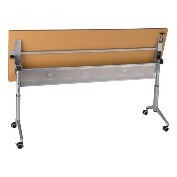 """Heavy-Duty Adjustable-Height Flipper Table (24"""" W x 72"""" L) - Flipped"""