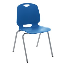 Academic Stack Chair - Brilliant Blue