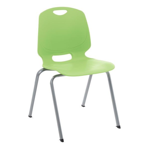 Academic Stack Chair - Apple Green