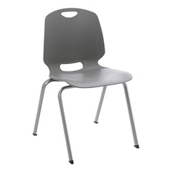 Academic Stack Chair - Graphite