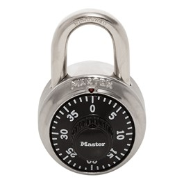 1525 Series Combination Padlock and Control Key