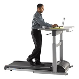 Walk and Work Standing Desk Treadmill - Electric Adjusting