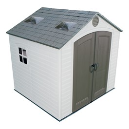 8\' H Front Entry Outdoor Shed (8\' W x 7 1/2\' D)