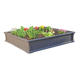 Raised Garden Bed (Two Beds w/ One Frost Cover)