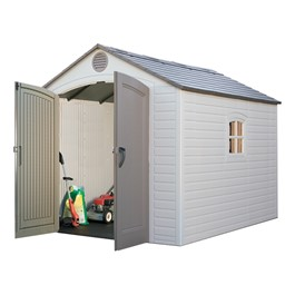8\' H Front Entry Outdoor Shed (8\' W x 12 1/2\' D)