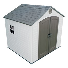 8\' H Front Entry Outdoor Shed (8\' W x 5\' D)
